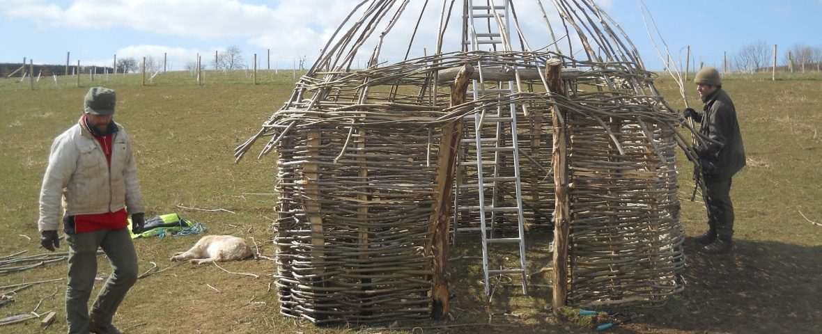 Neolithic house CROP